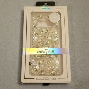 finest selection 78d5d 81979 New Karat Pearl Case for Samsung Galaxy Note 8 NWT